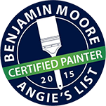 Benjamin Moore Certified Painter Angie's List 2015