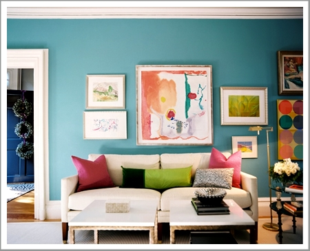 blue interior painting ideas - new england painting company