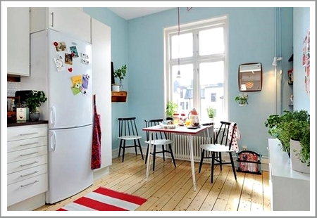 Blue Wall Paint Kitchen Decorating Ideas Ma Painting Company