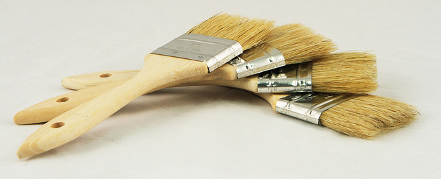 types of paintbrushes - interior painting company MA