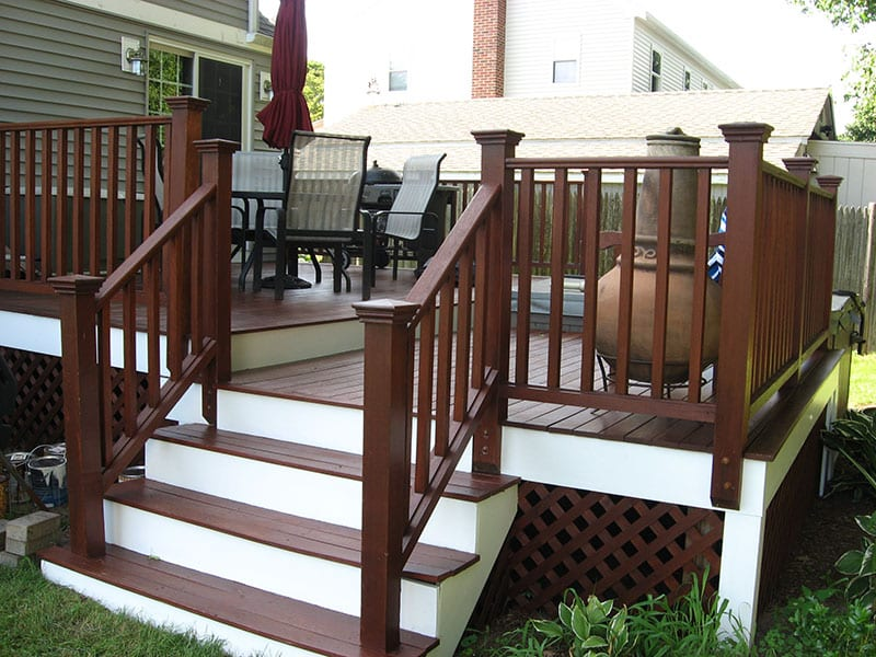 deck restoration - deck refinishing company