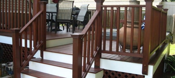 Arbor Coat on the Deck: Beverly, MA Painting Contractors