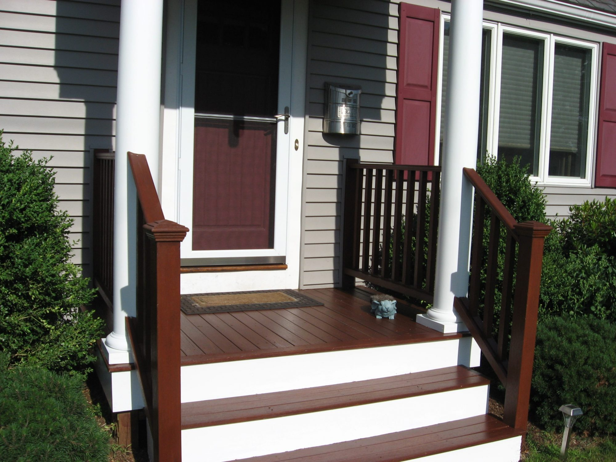 Deck Painting in Beverly, MA by Jerry Enos Painting Contractor