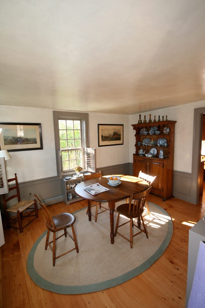 Dining room faux walls annisquam jerry enos painting for Dining room pictures for walls