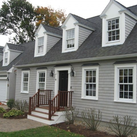 Cape Cod with new cedar shingles