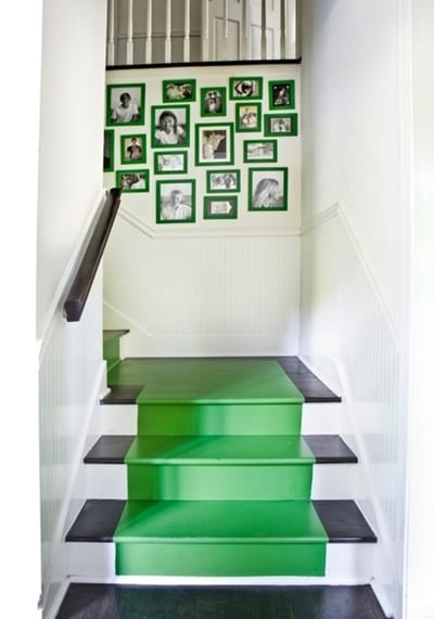 kelly green stairs
