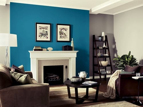 painting an accent wall - interior painting company MA