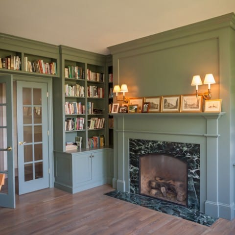 Country Farm House – Library