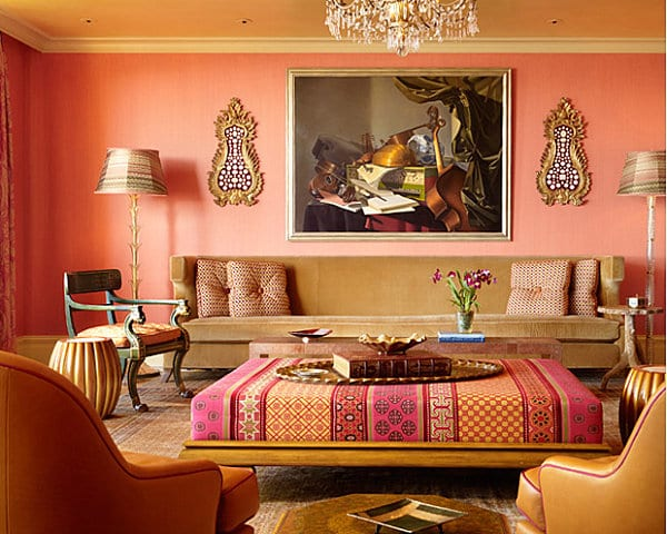 coral-and-pink-living-room