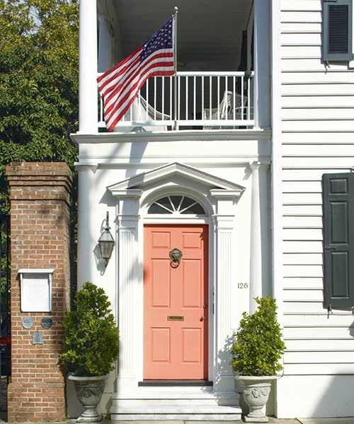 2015 paint trends decorating with coral - Preview exterior house paint colors ...