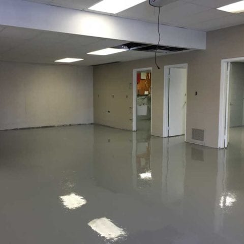 100% Solids Epoxy Floor Coating