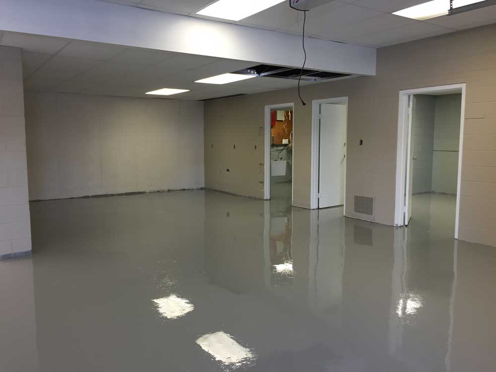 100 solids epoxy floor coating gurus floor