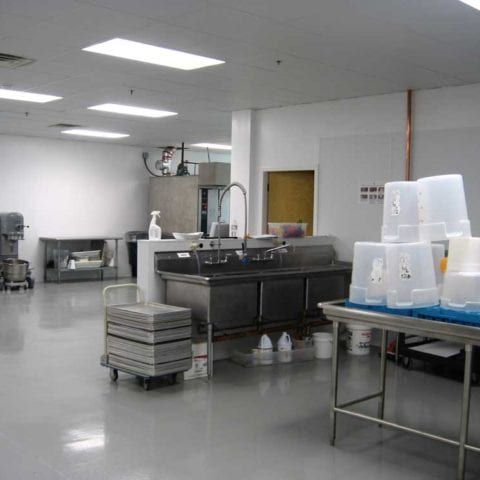 Food Industry Epoxy Floor Coating