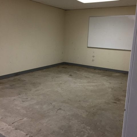 Epoxy Room Before