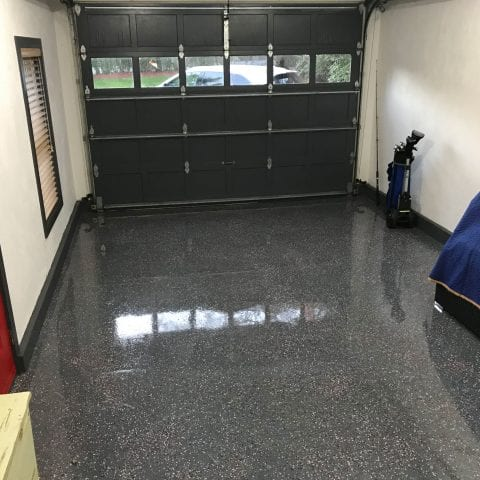 Epoxy Garage Back