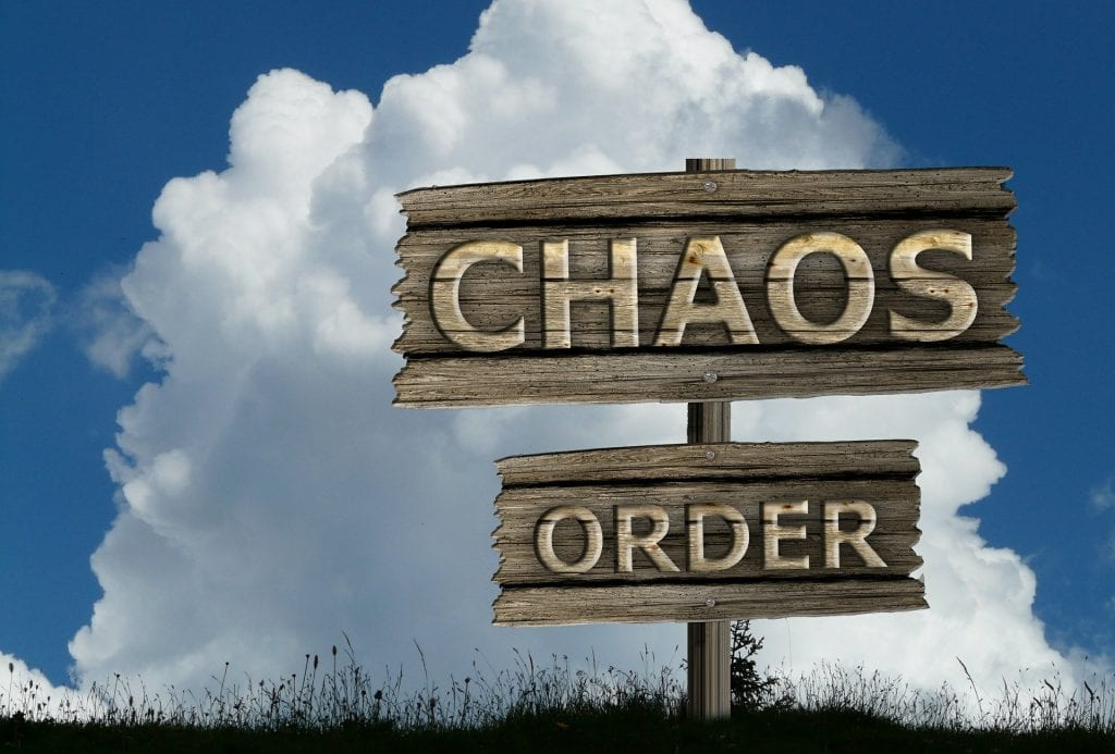 order and chaos sign