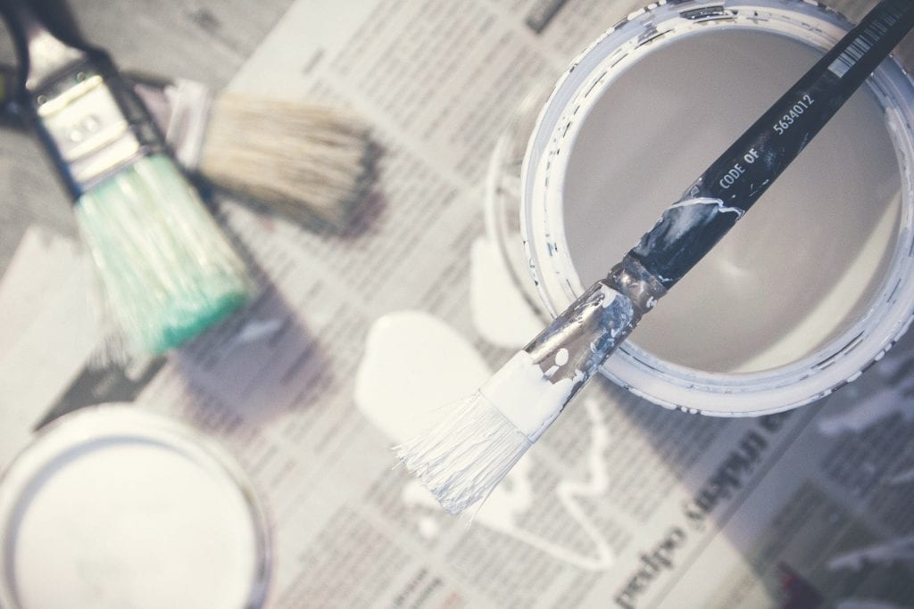 paint bucket and paint