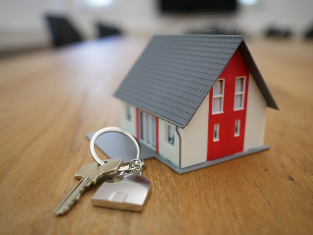 home and key